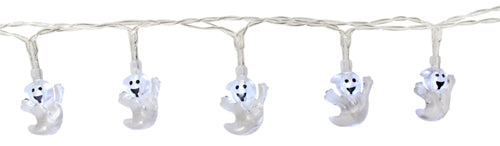 Party Lights - 10PK LED Halloween Ghost Light