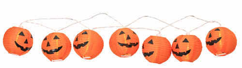 Party Lights - 10Pcs LED Pumpkin Lantern String Lights