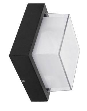 Outdoor LED Wall Light -  Square 12W IP54