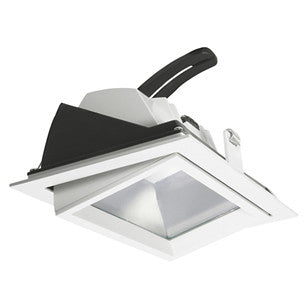 LED Downlight - 32W Rectangular Tilt