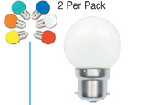 LED Bulb - 1W LED Golf Ball (2 Pack)