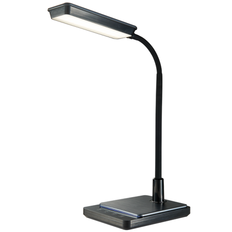 LED Desk Lamp - 8W, Colour Adjustable / Goose Neck / Dimmable