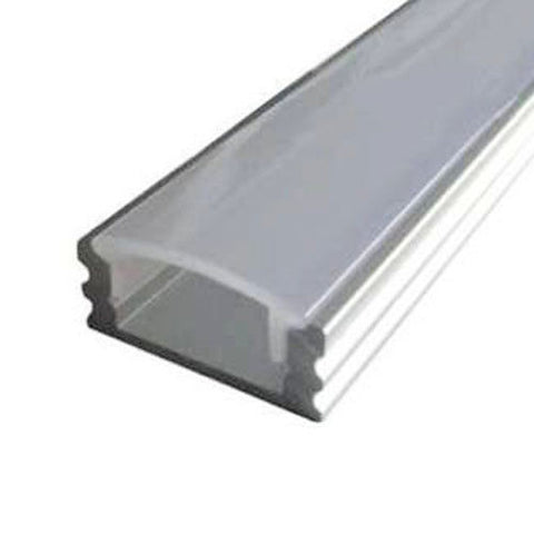 LED Extrusion With Frosted Cover- A6 Profile (3m Complete)
