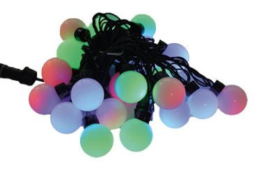 LED Christmas Lights - LED Ball String Lights (Connectable)