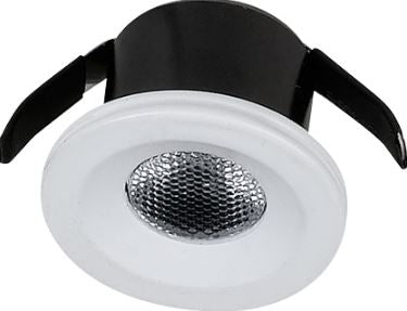 LED Cabinet Light - 1W / 3W LED Downlight (230Vac)