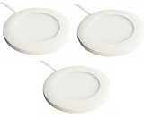 LED Cabinet Light Kit - 3 Light Kit