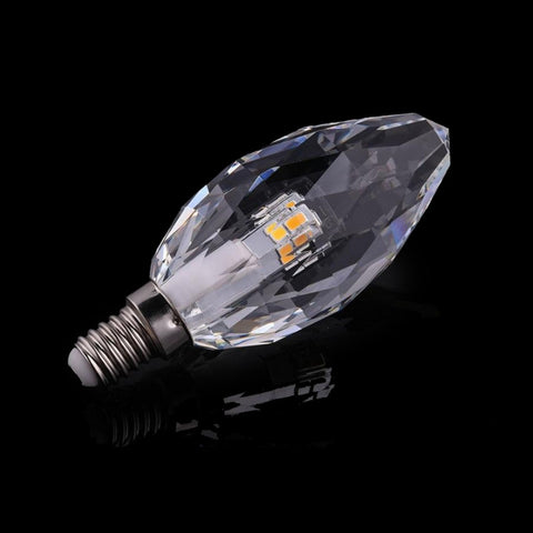 LED Candle - 5W Crystal LED Candle