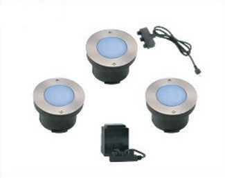 LED Deck Light - Round 3 Light Kit