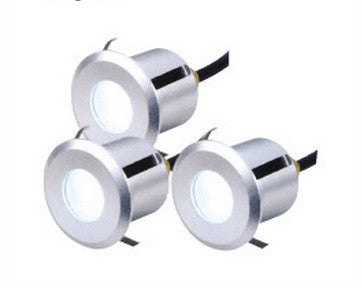 LED Deck Light - Round 3 Light Kit (IP65)