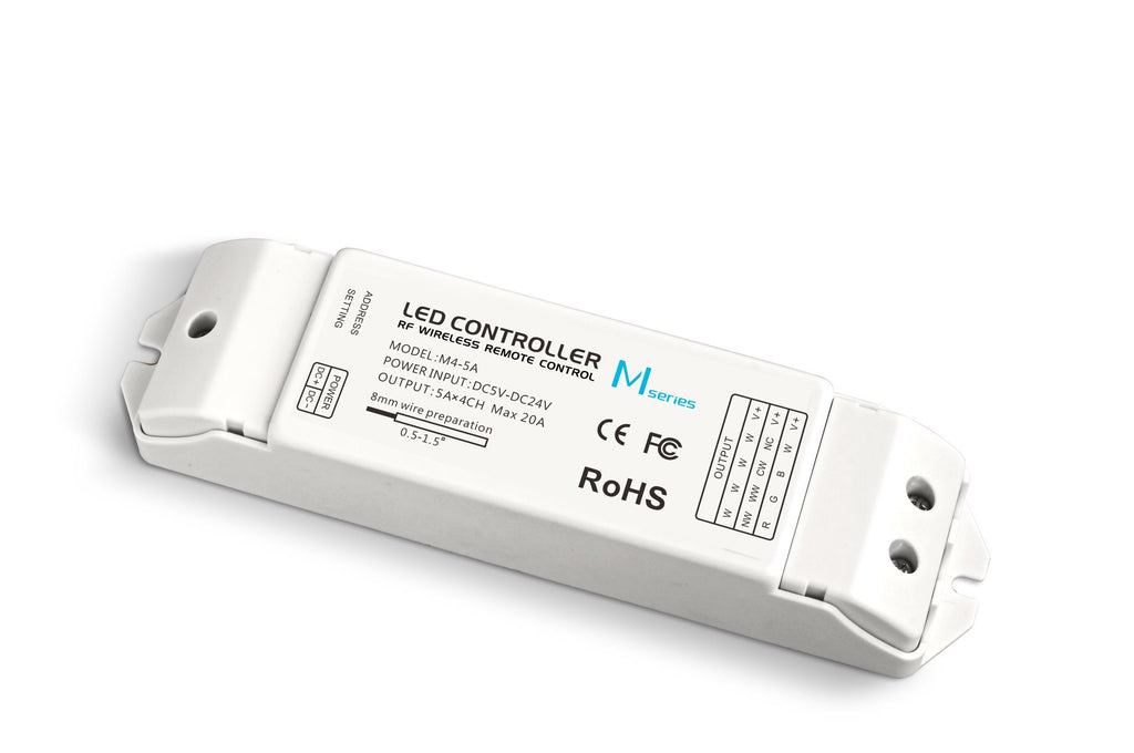 LED Strip Light - M4 RF RGB Receiver 20A