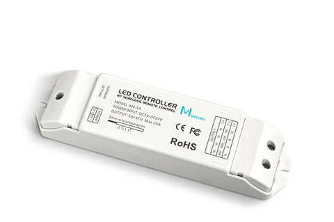 LED Strip Light - M4 RF RGBW Receiver 20A