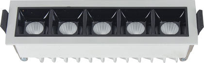 Linear Recessed LED Downlights - 2W / 4W / 8W / 18W / 24W