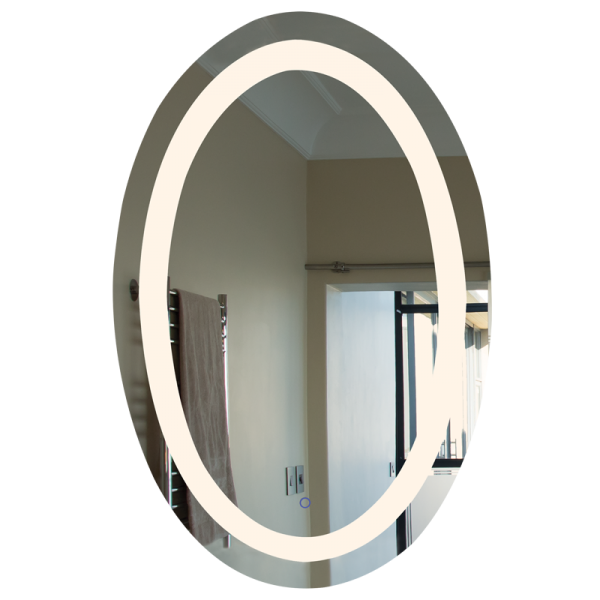 Dimmable Round LED Mirror