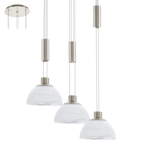 LED Pendant - Montefio 3 Light 18W