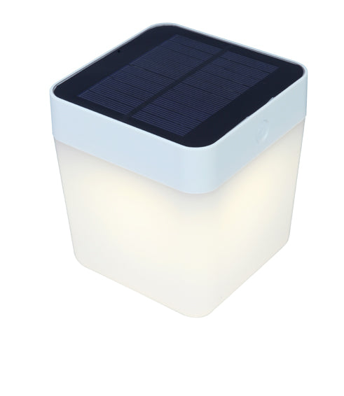 Lutec Solar : Table Cube Portable Light