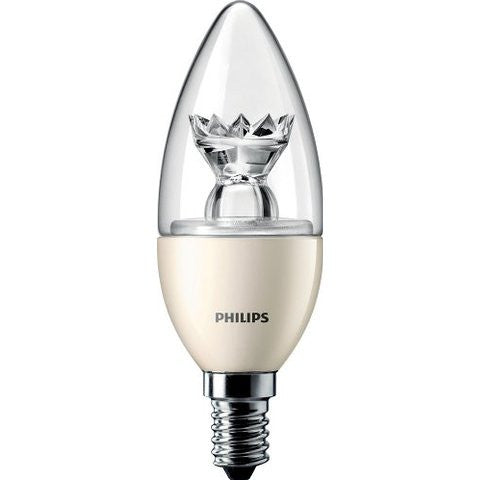 LED Candle - 6W Philips Dimmable Master LED E14 / B22