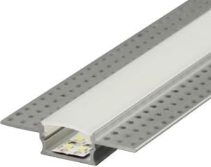 LED Extrusion / Profile - Plaster-In Recessed Wide