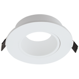 Downlight Holder - Round Tilt Polycarbonate