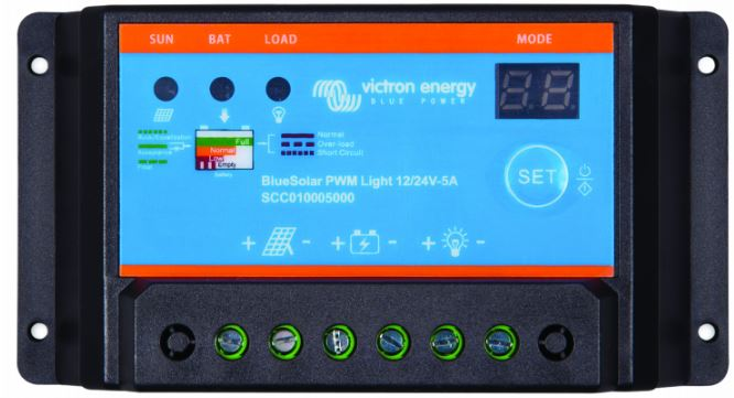 Victron PWM Solar Charge Contoller - 5A / 10A / 20A