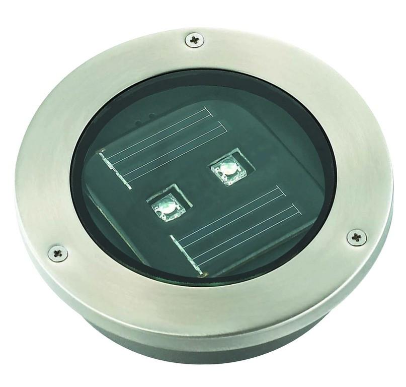 LED Deck Light - Solar LED Deck Light (Stainless Steel)