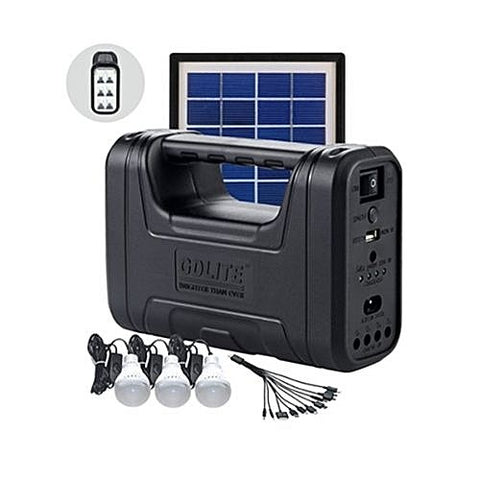 Solar & Emergency Lighting Kit