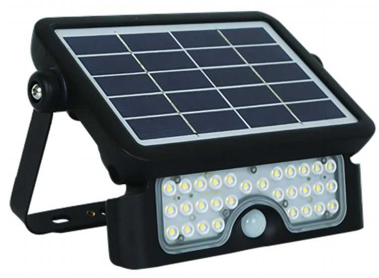Solar LED Floodlight - 5 Watt Multi-Function