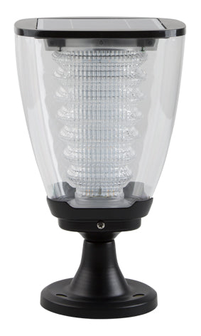 Solar LED Post Top Light - 100 Lumens