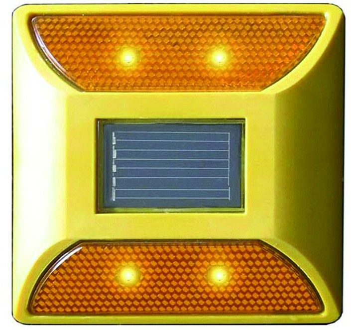 Solar Road Stud Yellow
