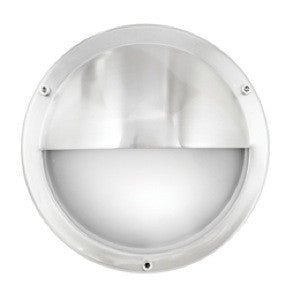 LED Wall Light - Stainless Steel Eyelid