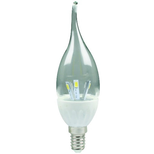 LED Candle - 3W Flame Dimmable - E14 / E27 /B22