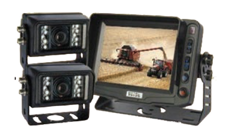 "Vehicle CCTV Kit - 2 x Cameras, 5"" Monitor"