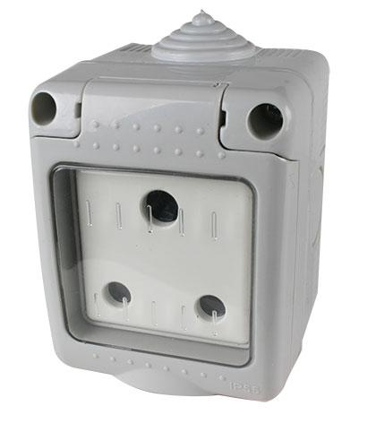 Weatherproof Plug Socket