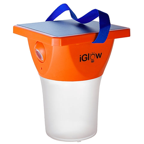 Solar iGlow - Solar LED Lantern with Reading Light
