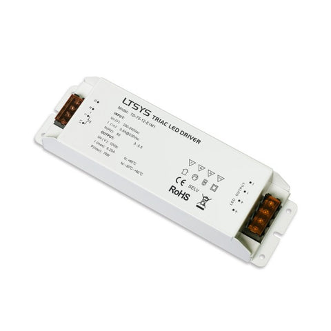 LED Dimmable Power Supply - 12Vdc 75W