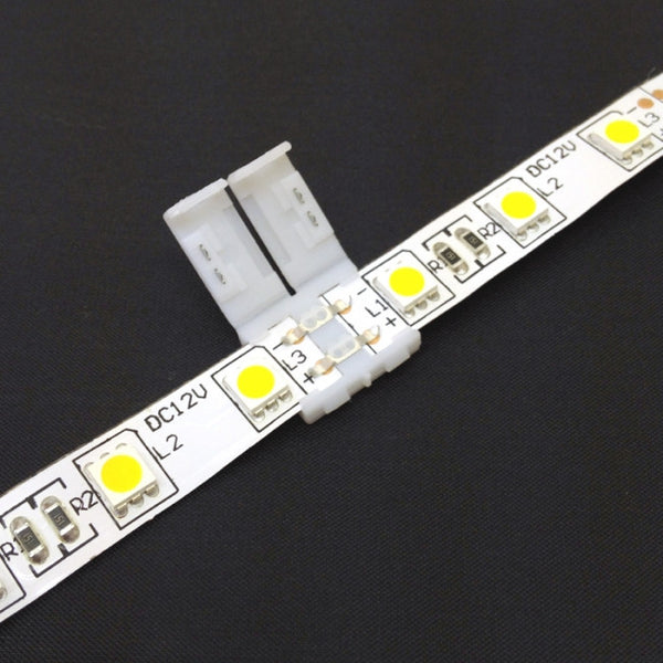 Led Strip Light Snap Connectors 3528 Amp 5050 Future