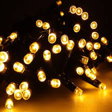 Led Christmas Lights Twinkle 5m Rubber Cable Fairy Light