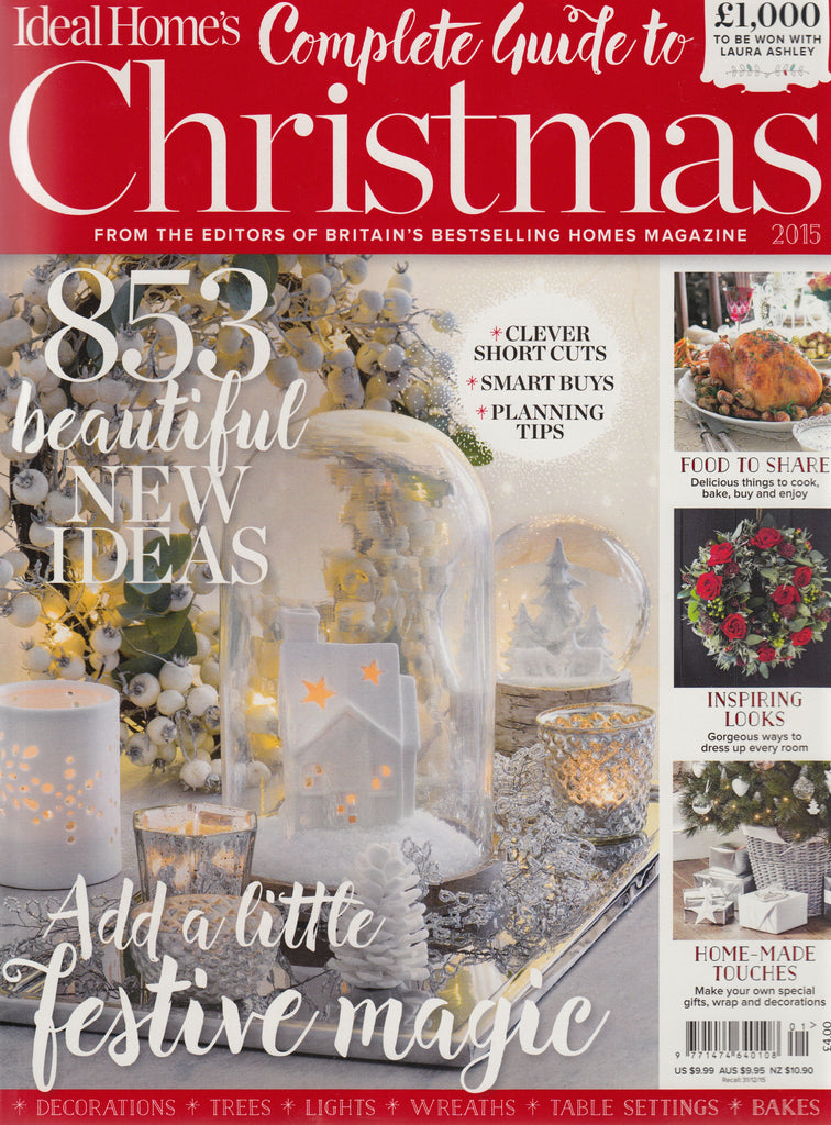 Tori Murphy in Ideal Homes Christmas