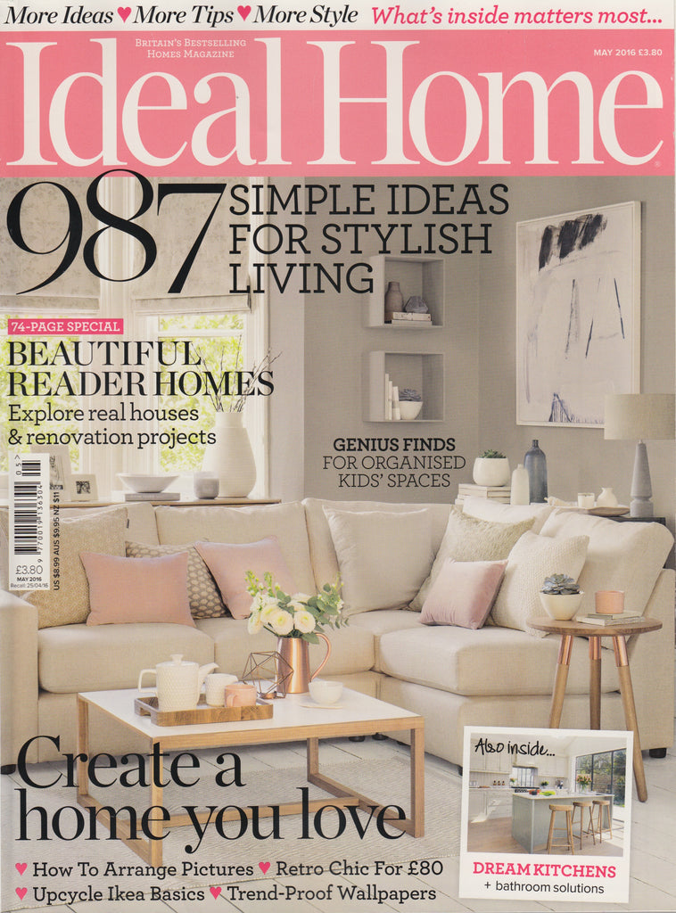Ideal Home May 2016