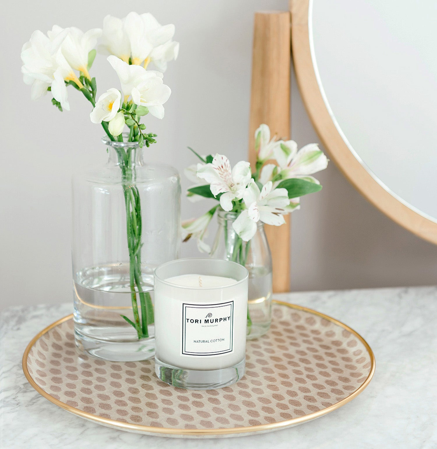 Natural Cotton Tori Murphy Candle