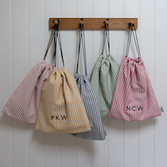 Beautiful bags for weekending, market visits, gym kits, nights away...