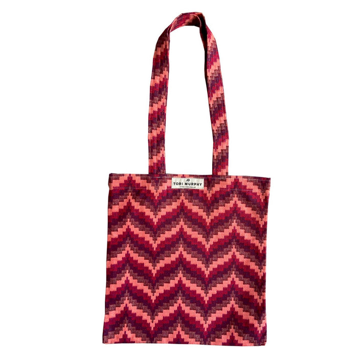 Abbey Florentine Tote Bag in Red