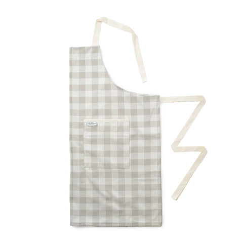 Woodhouse Check Apron Fawn