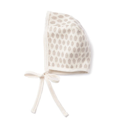 Elca Baby Bonnet Fawn on Linen