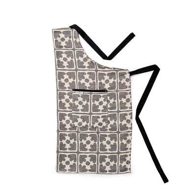Bloom Apron Black
