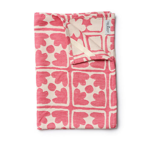 Bloom Tea Towel Radish