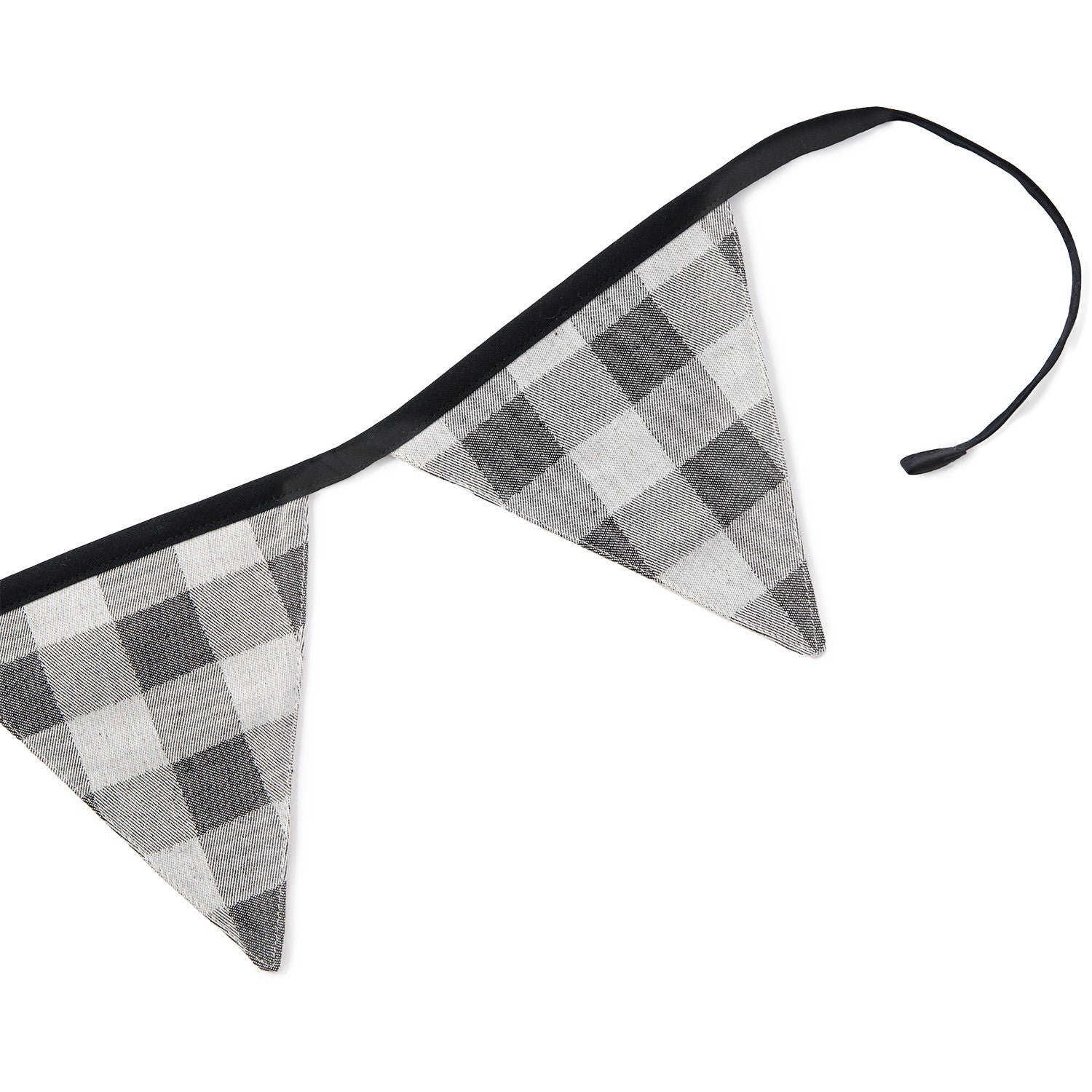 Woodhouse Check Bunting Black