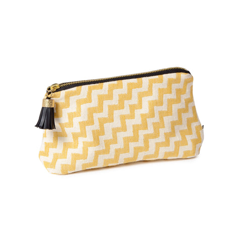 Climbing Chevy Small Wash Bag Mustard