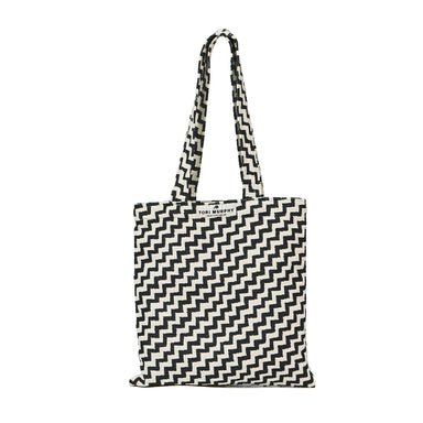 Climbing Chevy Tote Bag in Black
