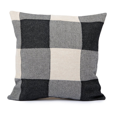 Woodhouse Check Cushion Black