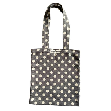 Dotty Spot Tote Bag in Black